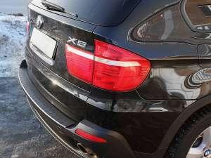 Пластиковая накладка на бампер BMW X5 E70