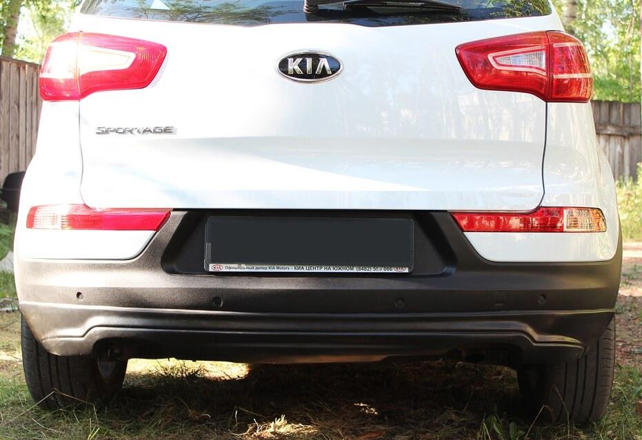 Задний тюнинг обвес KIA Sportage III (1 тип), фото 4