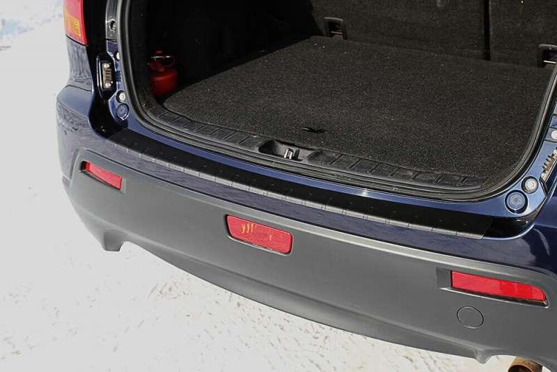 Пластиковая накладка на бампер Mitsubishi ASX, фото 2