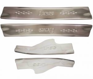 Накладки на пороги (нерж.) на Hyundai IX35