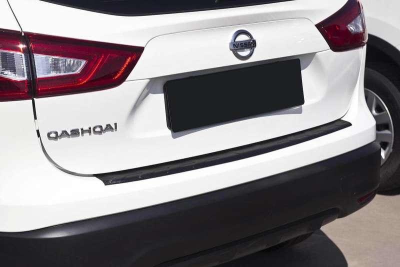 Пластиковая накладка на бампер Nissan Qashqai J11