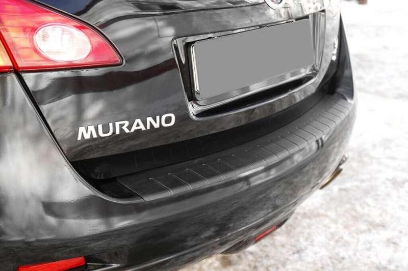 Пластиковая накладка на бампер Nissan Murano Z51
