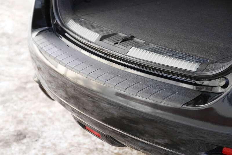 Пластиковая накладка на бампер Nissan Murano Z51, фото 2