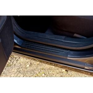 Накладки на внешние пороги Opel Astra