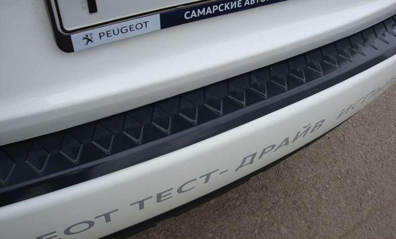 Пластиковая накладка на бампер Peugeot 4007, фото 4
