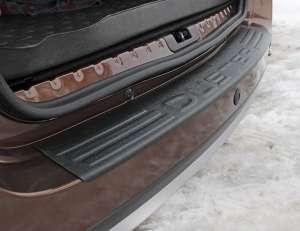 Пластиковая накладка на бампер Renault Duster