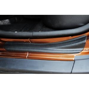 Накладки на внешние пороги Renault Duster I (4 шт.)