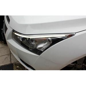 Светодиодные реснички на фары Chevrolet Cruze