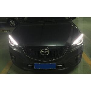 Светодиодные реснички на фары Mazda CX-5