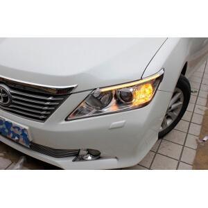 Светодиодные реснички на фары Toyota Camry