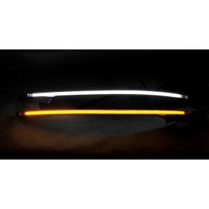 Светодиодные реснички на фары Hyundai IX35