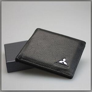 Кошелек с логотипом Mitsubishi