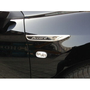 Наклейки на крыло Honda Accord 9 рестайлинг