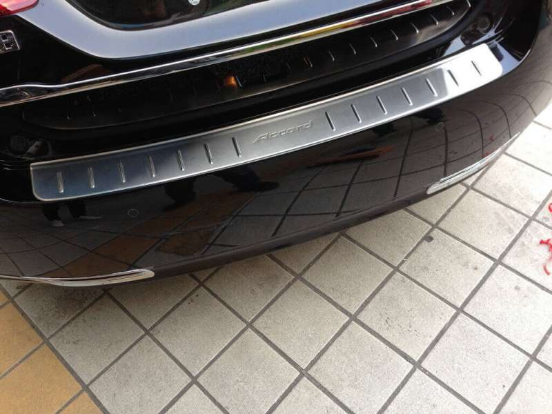 Накладка на бампер Honda Accord 9 (sedan), фото 3