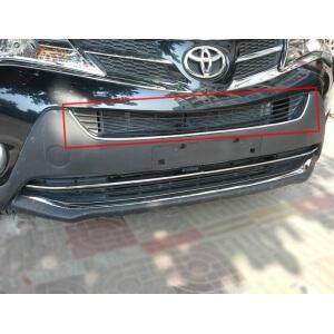Накладка на радиатор U-типа Toyota Rav4 (2013-2015)