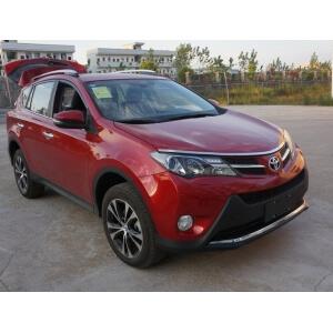 Комплект молдингов на капот Toyota Rav4 (2013-2015)