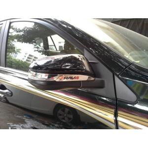 Накладки на зеркала заднего вида Toyota Rav4 (2 тип)