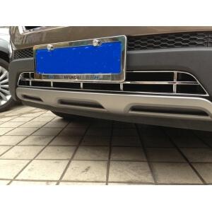 Накладка на нижнюю решетку радиатора Hyundai Santa Fe (2012-2016)