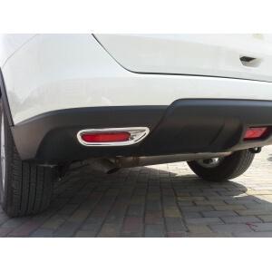 Накладки на задние ПТФ Nissan X-Trail (2015)