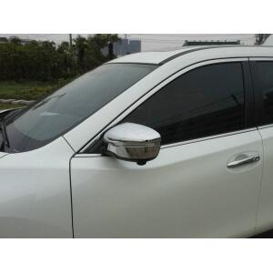 Накладки на зеркала заднего вида Nissan X-Trail (2015)