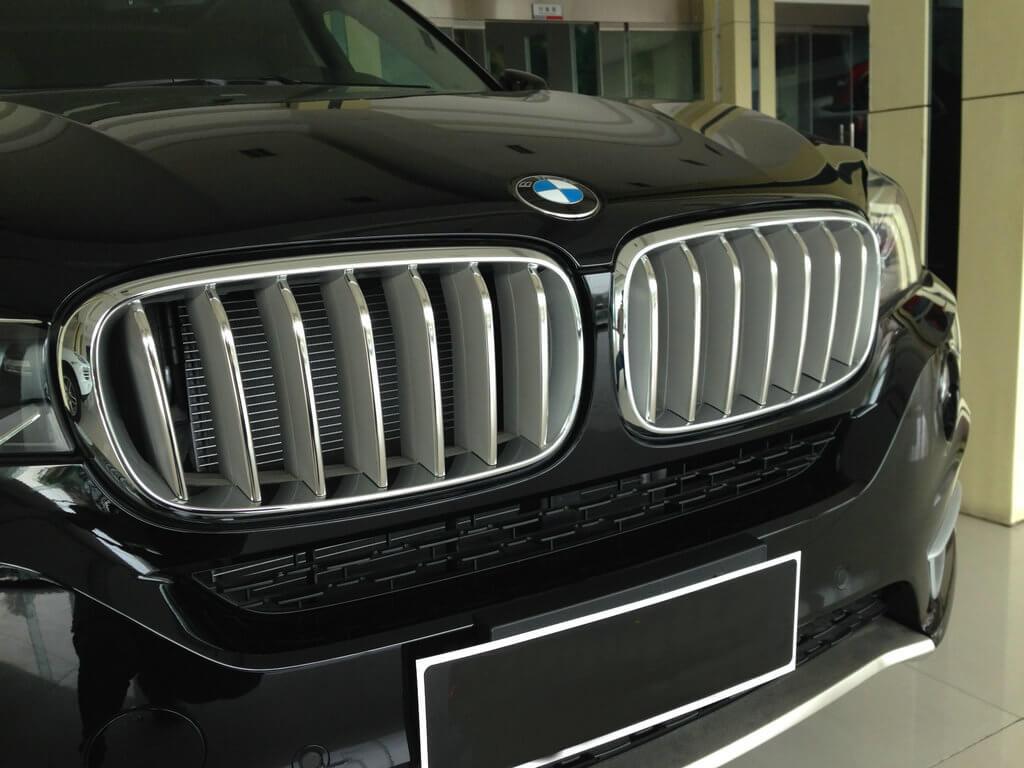 Накладки на решетку радиатора BMW X5 F15