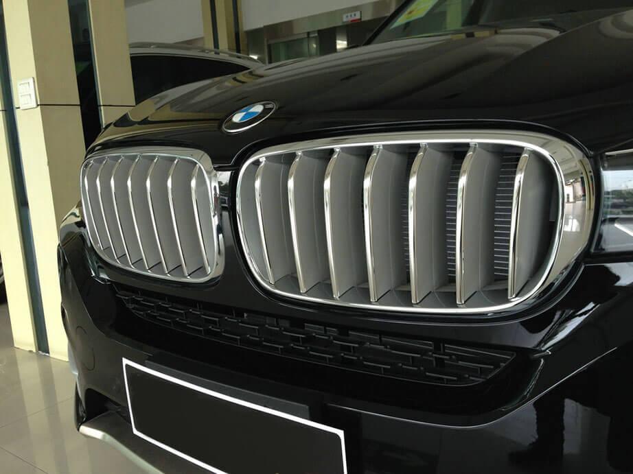 Накладки на решетку радиатора BMW X5 F15, фото 3