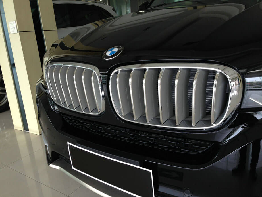 Накладки на решетку радиатора BMW X5 F15, фото 5