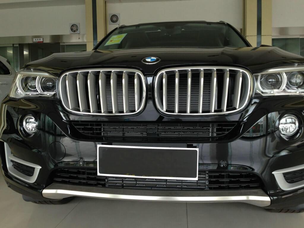 Накладки на решетку радиатора BMW X5 F15, фото 6