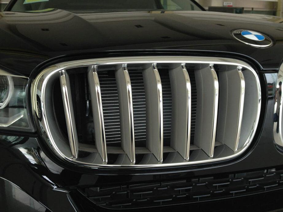 Накладки на решетку радиатора BMW X5 F15, фото 7