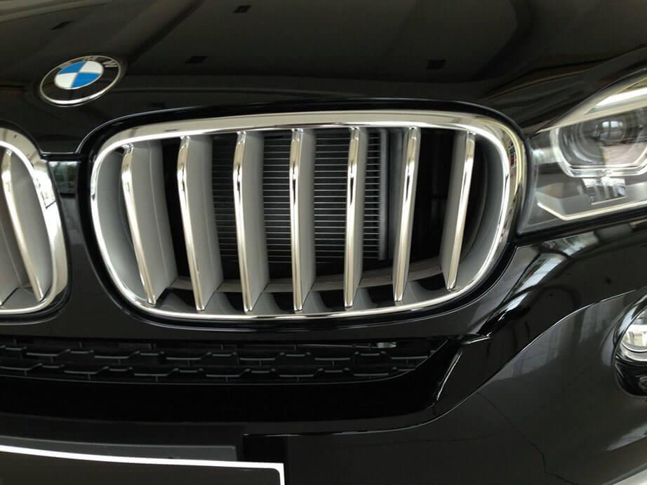 Накладки на решетку радиатора BMW X5 F15, фото 8
