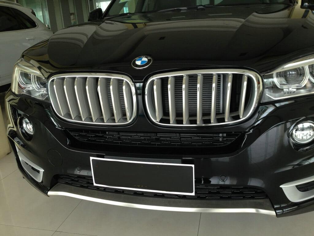 Накладки на решетку радиатора BMW X5 F15, фото 9