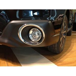 Накладки на передние ПТФ Subaru Outback (2015)