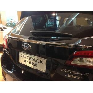 Молдинг на багажник (верхний) Subaru Outback (2014+)