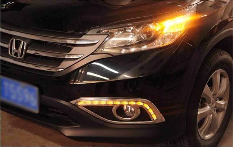 Дневные ходовые огни Honda CR-V 2,4 (2 тип)