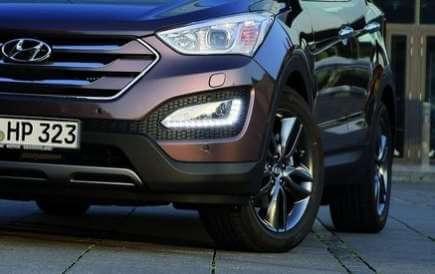 Дневные ходовые огни Hyundai Santa Fe 2012 – 2016