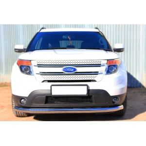 Защита переднего бампера Ford Explorer 2012 d76 (секции) FEZ-001308