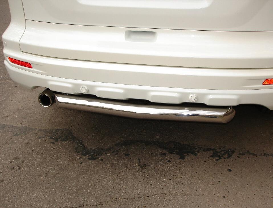 Защита заднего бампера Honda CR-V 2010 d63 HNZ-000226, фото 2