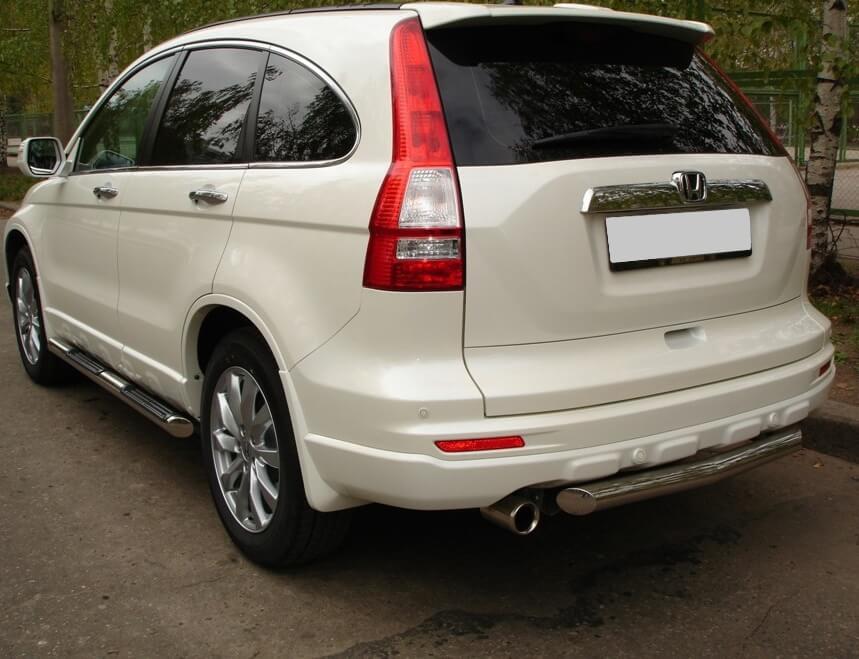 Защита заднего бампера Honda CR-V 2010 d63 HNZ-000226, фото 4