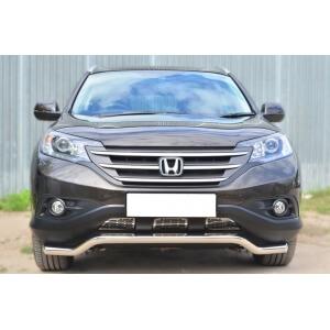 Защита переднего бампера Honda CR-V 2,4 2013- d63 (волна) HVZ-001767