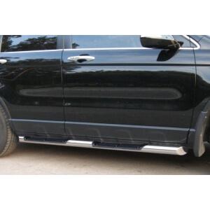 Пороги труба Honda CR-V 2006 – 2009 (вариант 1)