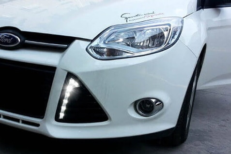 Дневные ходовые огни Форд Фокус 3 (2 тип)