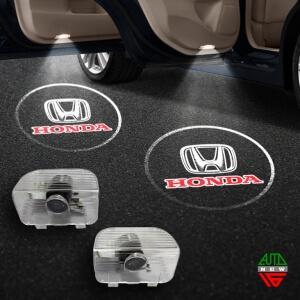 Штатная подсветка дверей Honda Accord 9