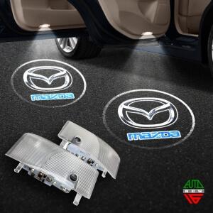 Штатная подсветка дверей Mazda 6