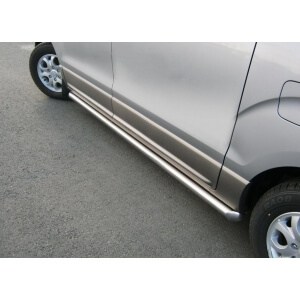 Пороги труба Hyundai H1 2007 – 2015 (вариант 1)