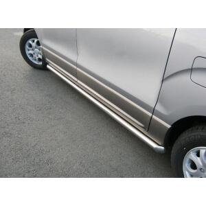 Пороги труба Hyundai H1 2007 – 2015 (вариант 2)