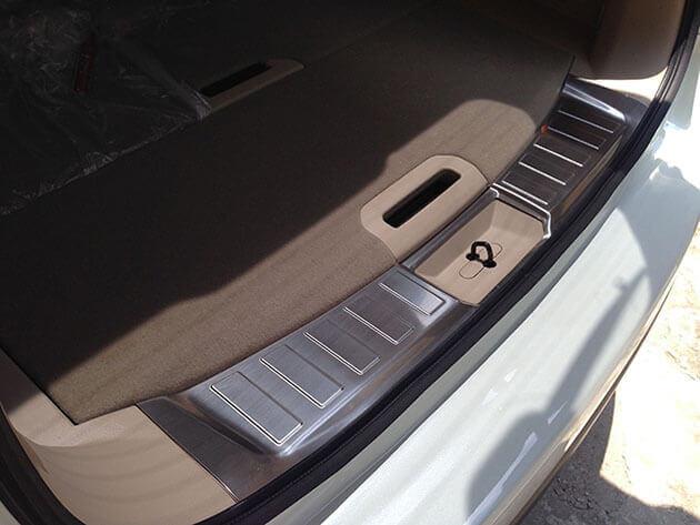 Накладка на бампер (внутренняя) Nissan X-Trail T32
