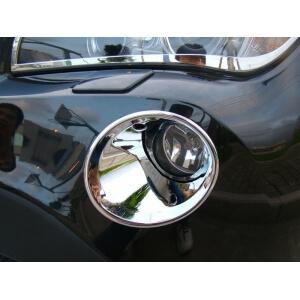 Накладки на передние ПТФ BMW X1 (2009-2012)
