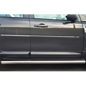 Пороги труба Land Rover Freelander 2012 – 2014 (вариант 3)