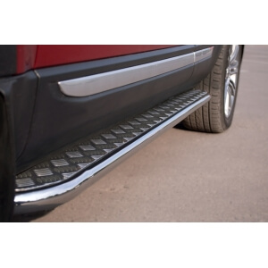 Пороги труба с листом Land Rover Range Rover Evoque Prestige u Pure