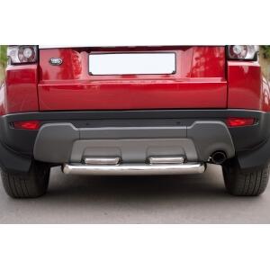 Защита заднего бампера LAND ROVER Range Rover Evoque Prestige u Pure d76_42х2 (дуга) REPZ-000813